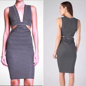 Bec & Bridge cut out pencil dress 2
